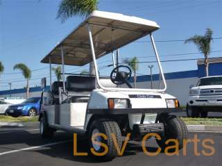 Club Car Carryall Gas 6 passenger Golf Cart 11hp 350cc Engine DS Runs