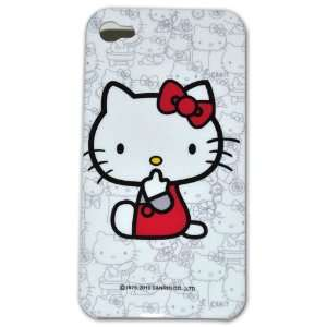 Hello Kitty Hard Case for Apple Iphone 4g Jc008e + Free