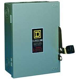 Square D By Schneider Electric 30A Gd Safety Switch D22 Qo Square D