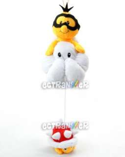 14 Super Mario Bros Lakitu Spiny Plush Doll/MX991