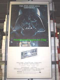 EMPIRE STRIKES BACK MOVIE POSTER 3 SHEET RARE STAR WARS