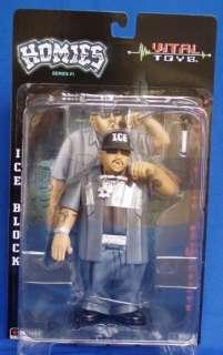 Large 7 ICE BLOCK Hip Hop, Homies action figure NEW