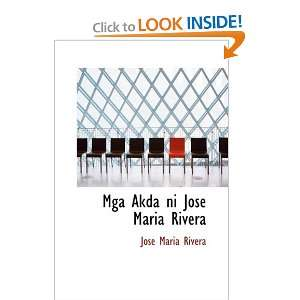 Rivera (Tagalog Edition) (9781434620798) Jose Maria Rivera Books
