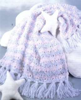 Baby Afghans Crochet Patterns Pattern Afghan Quick Easy Cloud Nine