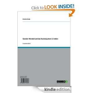 Sozialer Wandel und das Kastensystem in Indien (German Edition