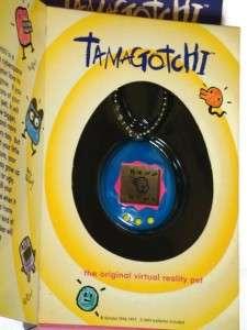 NEW* in Box BANDAI Tamagotchi Original Virtual Pet Blue Yellow 1996