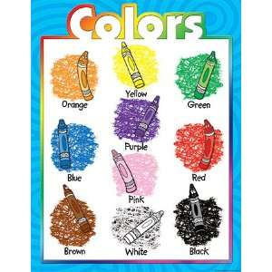 COLORS EARLY LEARNING CHART: Toys & Games