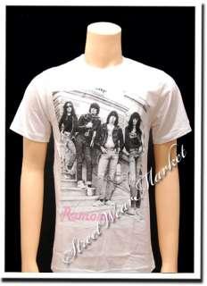 Ramones American Punk Rock Band Music Men T shirt Sz M
