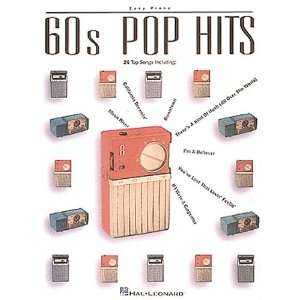 60s Pop Hits (Easy Piano Songbook) (0073999100747) Hal