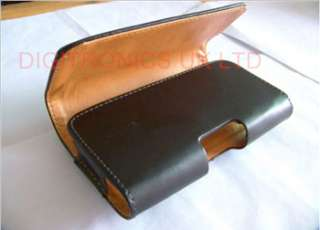 LEATHER WALLET CASE COVER HOLSTER WITH BELT CLIP FOR NOKIA LUMIA 710