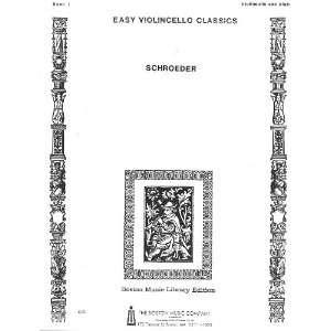 Classics, for Violoncello and Piano, Book 1 Alwin Schroeder Books
