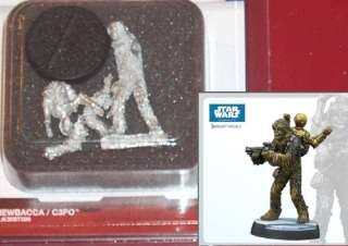 Knight Models K30ST006 Star Wars Chewbacca & C3PO NIB