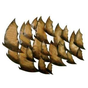 Tropical Fish Metal Wall Art Home & Kitchen