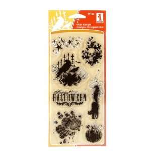 Inkadinkado Clear Stamp Scary Night Collection By The Each