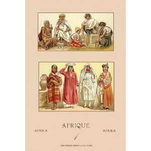 Traditional Dress of Northern Africa #2   Poster by