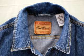 Vintage Ladies Levi Strauss Signature Stretch Denim Jean Jacket Size