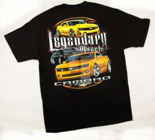 Chevy Bowtie Bow Tie Legendary Muscle Black T Shirt Shirt Tee