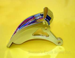 SIDEMOUNT TAILLIGHT LED OPEN PRIMARY BDL FIT HARLEY