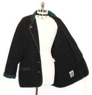 SCHNEIDERS Women BLACK WOOL Austria SWEATER Jacket 16 L