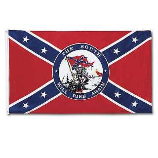 Confederate Rebel Dixie Flag South Will Rise Again Southern Indoor