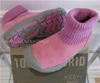 NIB KEEN Shay Boots (Kids) Toddlers Girls PINK (Variety Sizes) Retails