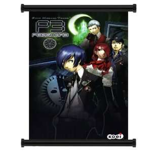 Shin Megami Tensei Persona 3 Game Fabric Wall Scroll