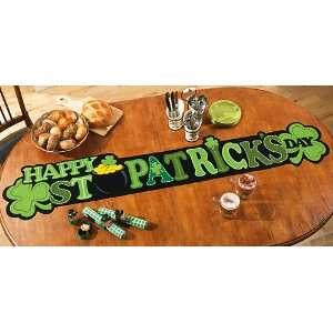 Happy St. Patricks Day Irish Table Runner