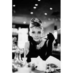 Audrey Hepburn Breakfast At Tiffany Poster