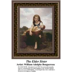 The Elder Sister, Counted Cross Stitch Patterns PDF  Available