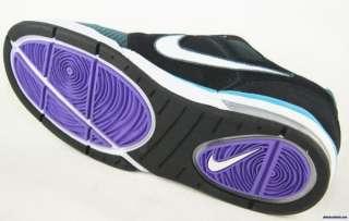 NIKE ZOOM CONVERGE 6.0 Mens Black Purple Skate Shoes Size 11