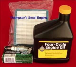 Briggs 491588 Air Filter Rep & Tune up Kit / Oil & Plug