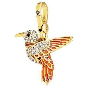 Juicy Couture Jewelry Hummingbird Charm Gold Jewelry