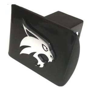State Bobcats Black METAL Hitch Cover with Bobcat Emblem Automotive