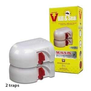 Victor Kill & Seal Mouse Trap M265   2 Traps Patio, Lawn & Garden
