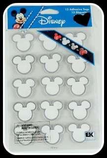 Disney 8.5 x 8.5 Album Scrapbook Kit Vacation Clear Stamps Alphabet