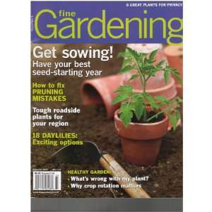 have your best seed starting year, February 2011) VArious Books
