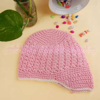 Handmade Baby Toddler Crochet Beanie Knit Hat Cap Wool [SKU: 12