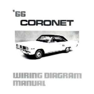1966 DODGE CORONET Wiring Diagrams Schematics Everything Else