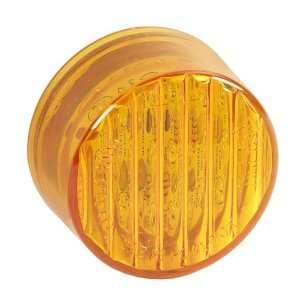 PARTSMART SMR20009A LED 2 Round Marker Lamp Amber   9 dio Automotive