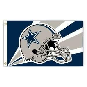 Dallas Cowboys NFL Football Helmet Design Flag (3 x 5