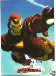 IRON MAN #38 2008 Marvel Masterpieces 2 Card Robinson