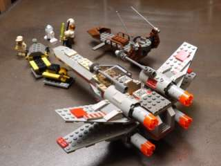 Lego 1999 Star Wars Classic X Wing Fighter 7140 & 7104 5 minifigures