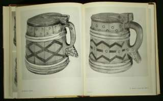 BOOK Estonian Folk Art wood carving [antique beer mug]