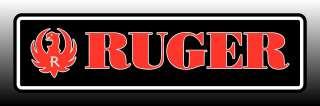 Ruger Logo Bumper Sticker Decal