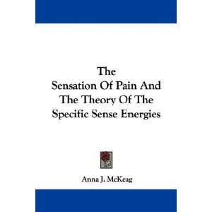 Of The Specific Sense Energies (9781432528621): Anna J. McKeag: Books