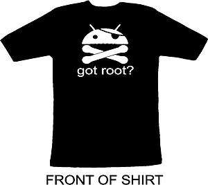 got root? shirt funny android super user t shirt 63