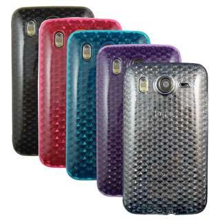 Chic Design Hard Case Cover for HTC Desire HD/ Inspire 4G + Screen