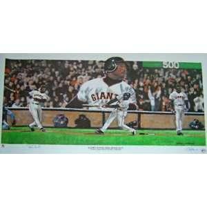 Barry Bonds San Francisco Giants   500 Home Run