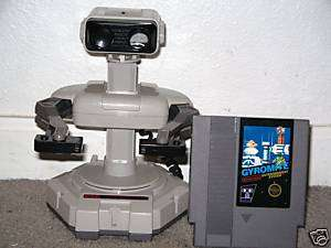 NINTENDO NES ROB R.O.B. THE ROBOT W/ GYROMITE GAME