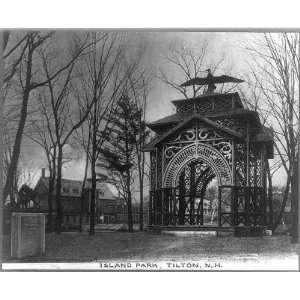 Bandstands,Tilton Island Park,NH,Belknap County,Eagle